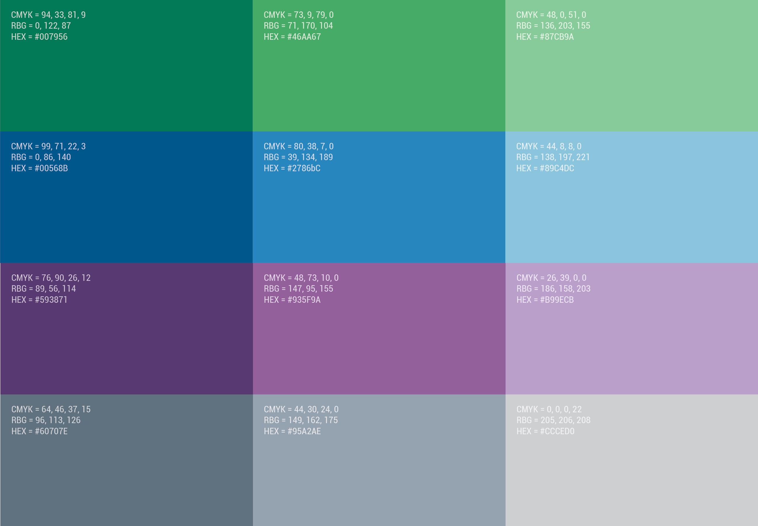 mankato color palette